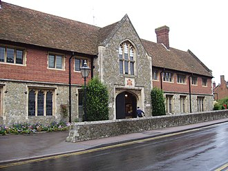 Walter Buckler - Wye College, Kent, acquired by Buckler after the Dissolution