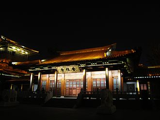 Hangzhou - Xiangji Temple was built in 978 AD during the Northern Song Dynasty