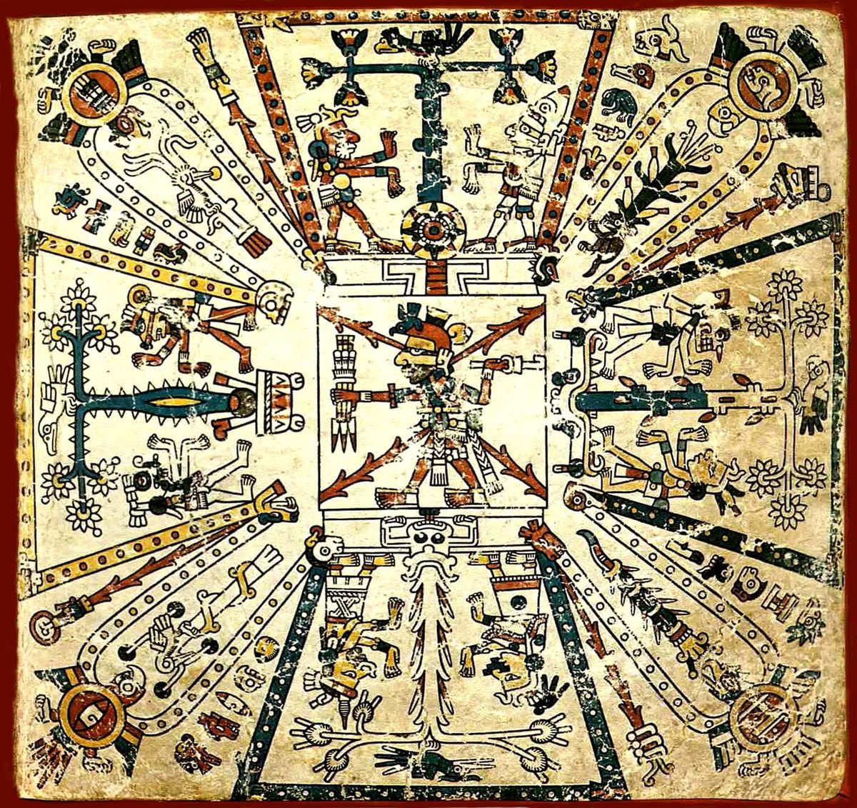 the dominance of the polytheistic religion of the aztecs at the time of the spanish conquest A member of a people of central mexico whose civilization was at its height at the time of the spanish conquest in  of aztec dominance  to aztec religion.