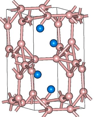 Yttrium borides - Structure of YB4