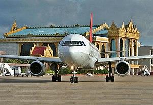 Yangon International Airport - Image: Ygnairport 2006