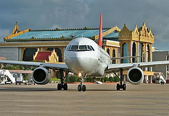 Yangon International Airport - Image: Ygnairport 2006