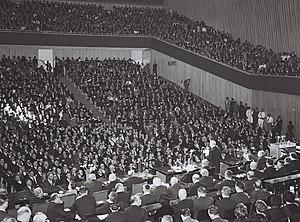 International Convention Center (Jerusalem) - 25th Zionist Congress, 1960