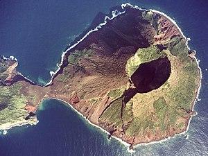 Yokoate-jima - Image: Yokoate island Aerial Photograph