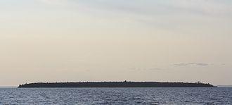 York Island (Wisconsin) - York Island at sunset