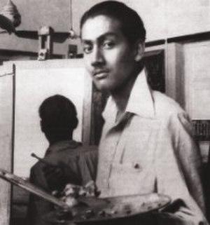 Safiuddin Ahmed - Ahmed in Calcutta Government School of Art in the 1930s