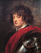 Young man in armor, by Peter Paul Rubens.jpg