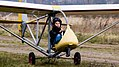 Youth gliding school Kaliningrad-ground roll.jpg