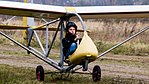 Youth gliding school Kaliningrad-ground roll.jpg