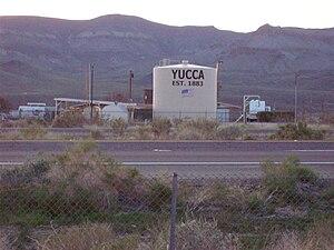 Yucca, Arizona - Water tank in Yucca, Arizona