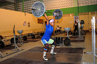 Yuderqui Contreras Two times World Championships medalist and Olympic weightlifter