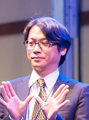 Yutaka Yamamoto - Image: Yutaka Yamamoto at Anime Central 20140529
