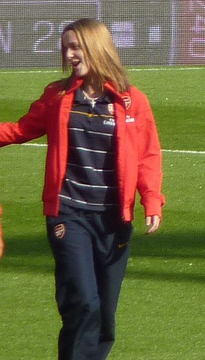 Yvonne Tracy - Image: Yvonne Tracy at the Emirates Stadium, London 20090524