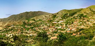 Zəylik village in Dashkasan Rayon (1980s).jpg