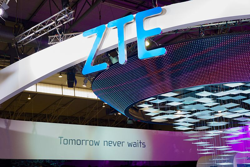 Stan ZTE  di Mobile World Congress 2015, Barcelona