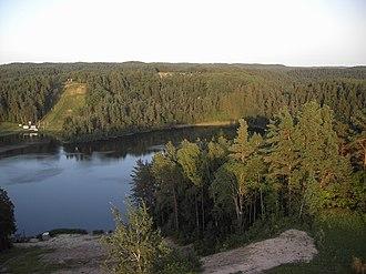 Ignalina District Municipality - Žaliasis lake