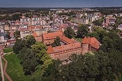 Zamek w Bytowie, widok z drona.jpg