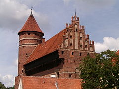 Zamek Kapituły Warmińskiejw Olsztynie