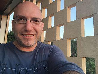 Zaven Kouyoumdjian - A selfie taken by Zaven Kouyoumdjian himself.