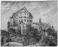 Zeichnung - Schloss Sandersdorf - Domenico Quaglio - um 1815.jpg