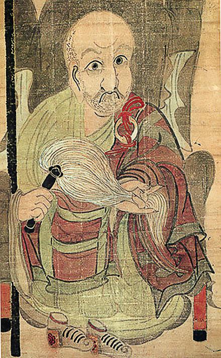 Hakuin Ekaku self portrait