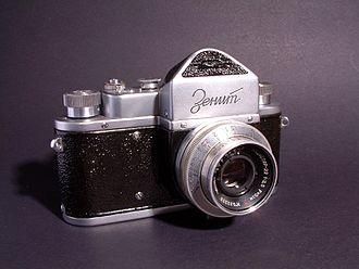 Zenit (camera) - Zenit, first model, 1952