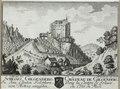 Zentralbibliothek Solothurn - SCHLOSS GILGENBERG In dem Canton Solothurn von Mittag anzusehen Wappen CHÂTEAU DE GILGENBERG Dans le Canton de Soleure du Côté du Midi - a0372.tif
