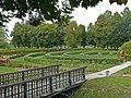 Zespół zamkowy (XV-XVIw.) ogród (fot. 3) - Kodeń powiat bialski woj. lubelskie ArPiCh A-55.JPG