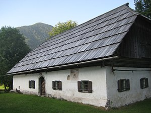 Radovna Valley - The Pocar farmhouse