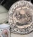 Zgornji Tuštanj - grad Tuštanj (porcelanski krožnik z motivom bitke za Abukir).jpg