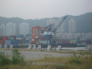 Port of Zhuhai - Container facility