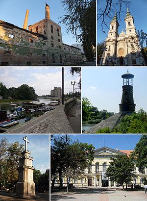 Pančevo - Image: Znamenitosti Pančeva