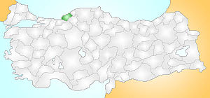 Zonguldak Turkey Provinces locator.jpg
