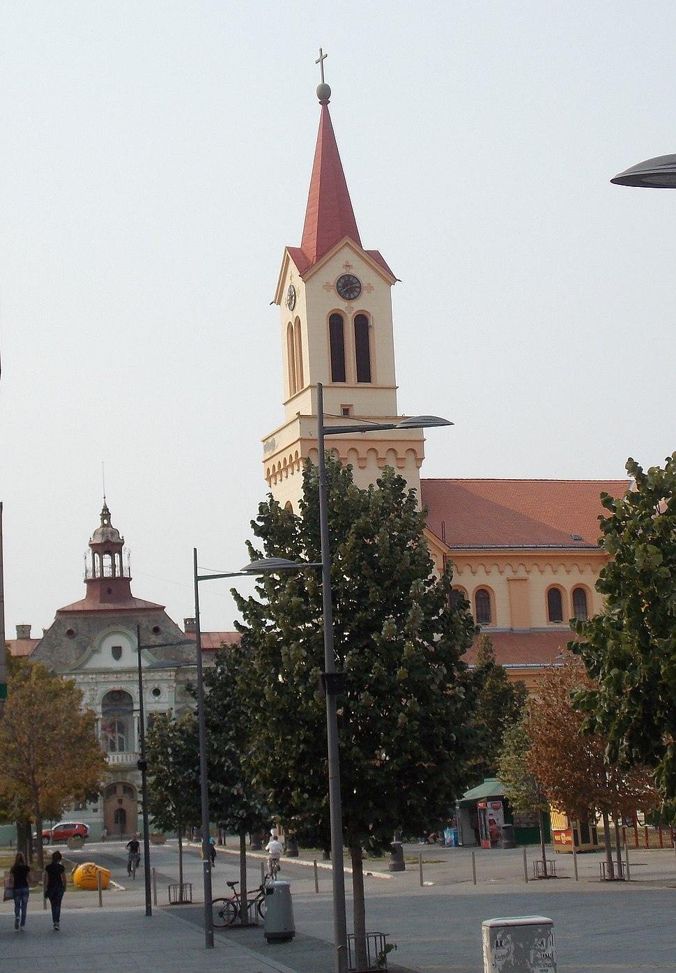Zrenjanin, staro jezgro grada
