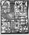 """Design for ""adire"" cloth"" - NARA - 559019.tif"
