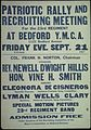 """Patriotic Rally and Recruiting Meeting for the 23rd regiment at Bedford Y.M.C.A...."" - NARA - 512605.jpg"