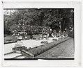 """Pavillon Colombe,"" Edith Jones Wharton house, 33 rue Edith Wharton, St. Brice-sous-Forêt, Seine-et-Oise, France. Terrace LCCN2008677759.jpg"