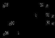 Strukturformel von Fenfluramin