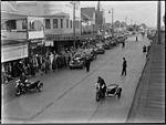 (Sir Tom Henley's?) funeral procession in Lyons Road Drummoyne (3531756721).jpg
