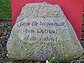,Gdzie Cię Los postawił, tam wytrwaj aż do śmierci, Motto z pomnika Janusza Korczaka. - panoramio.jpg