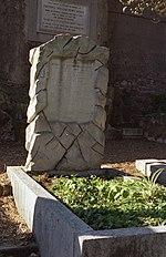 La tomba di John Addington Symonds, a Roma