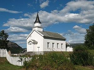 Åknes Chapel - Image: Åseral, Åknes kapell frå SV