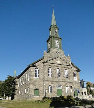 Lévis, Quebec - Notre-Dame-de-la-Victoire de Lévis Church, built in 1851