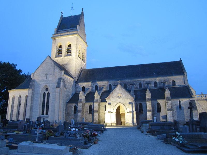 Église Saint-Pierre de fr:Sainteny