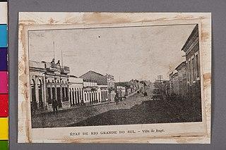 État de Rio Grande do Sul - Ville de Bagé