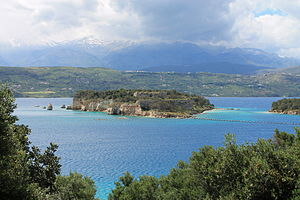 Souda (island) - View of Souda.