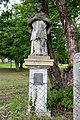 Ötvöskónyi, Nepomuki Szent János-szobor 2021 02.jpg