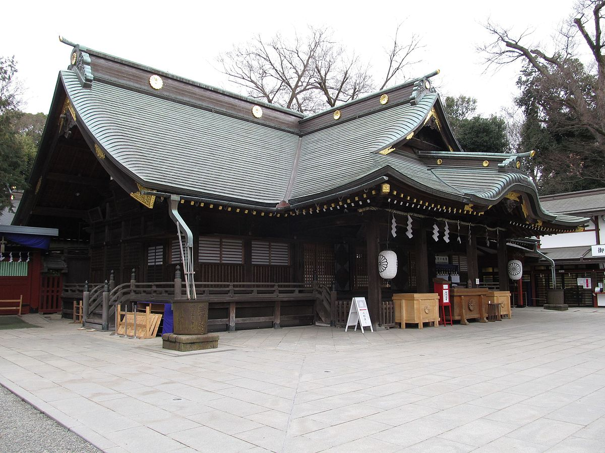 Ōkunitama Shrine - Wikipedia