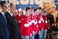 Ślubowanie sportowców reprezentujących Polskę na olimpiadzie w PyeongChang 2018 (26223270168).jpg
