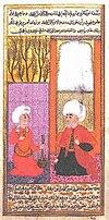 Шемси Ахмед-паша в суде (справа)